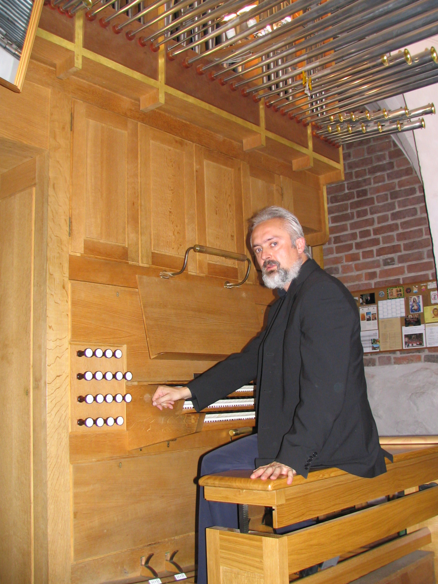 Denmark, organ tour 2005