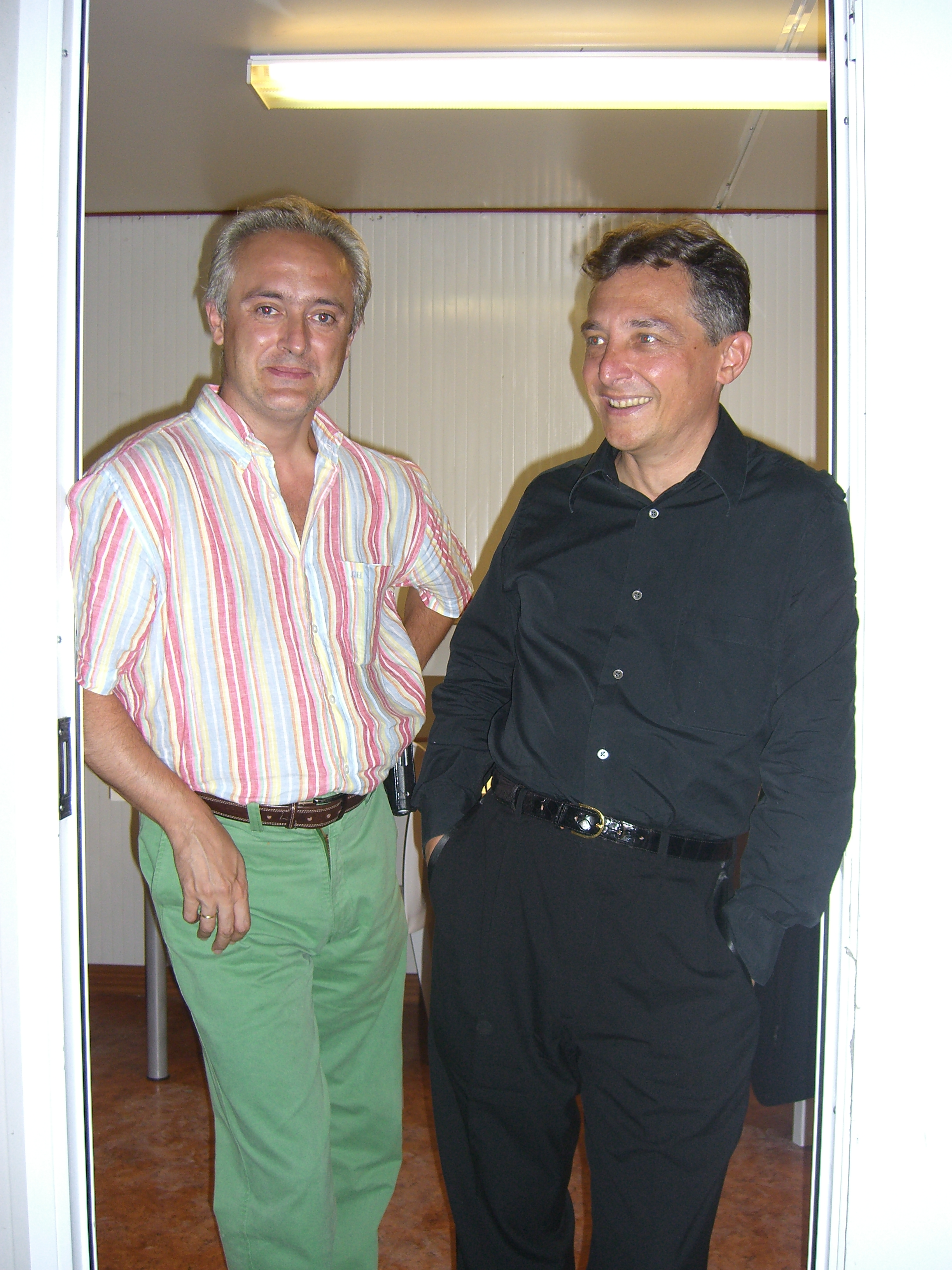with Michel D'Alberto