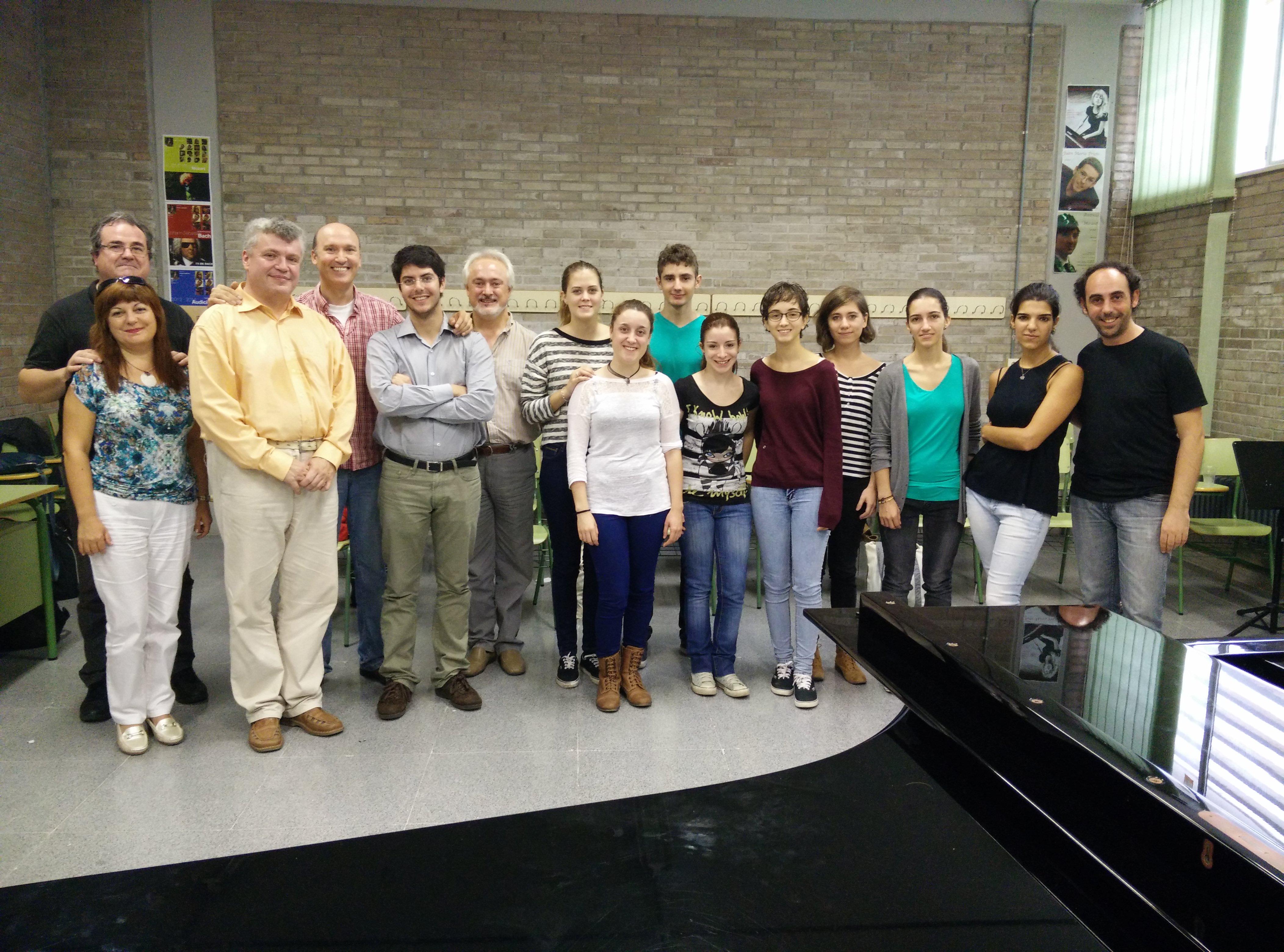 Castellón cello class