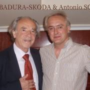 with Paul Badura Skoda